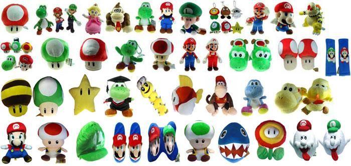 Nintendo Super Mario Bros Boo Ghost 9 Toy Plush Doll