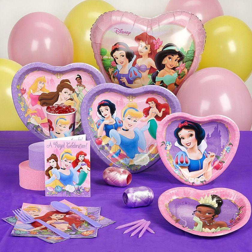 Disney Princess Birthday Party Supplies   YOU PICK