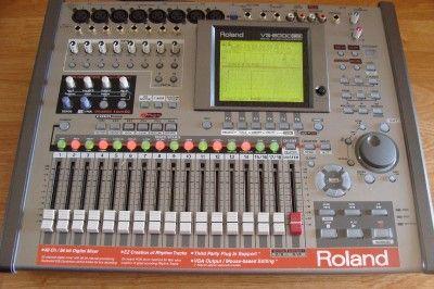 Roland VS 2000 CD Digital Multi Track Recorder Studio Workstation 2400