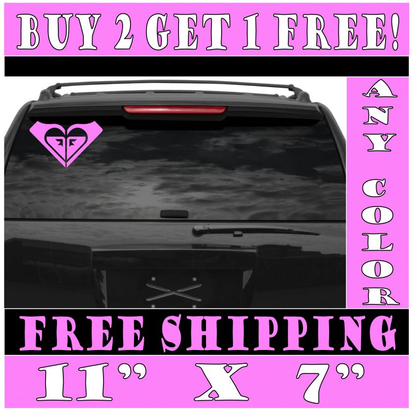 Large Roxy Logo Die Cut Vinyl Decal Sticker ANY COLOR