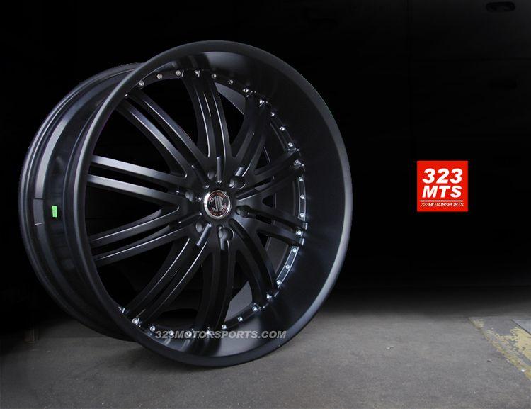 24 2CRAVE #11 no11 11 wheels CHEVY GMC YUKON CADILLAC wheels 6LUG