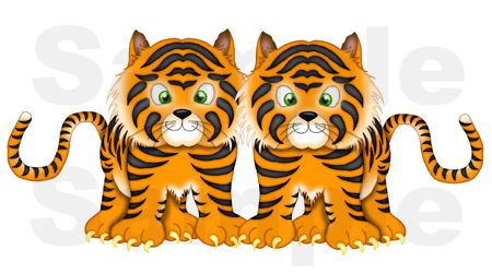 LION MURAL JUNGLE SAFARI ZOO CIRCUS NURSERY BABY WALL STICKERS DECALS